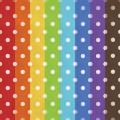 Rainbow Polka Dot Papers