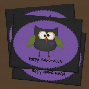 Happy Owl-O-Ween Card