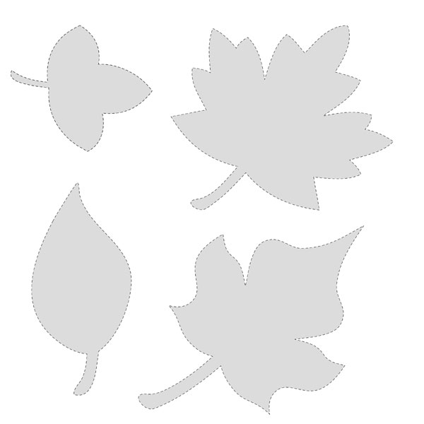 Fall Leaf Template Cut Out http://digitalcardfun.com/188/free-printable-leaf-patterns/