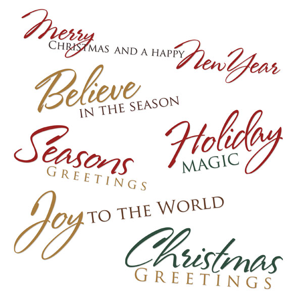 click - Short Christmas Sayings For Cards