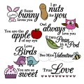 Funny Little Valentine Digital Stamp/Clip Art Set