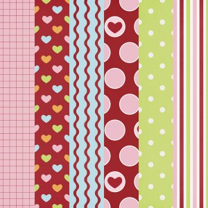 Printable Valentine Papers