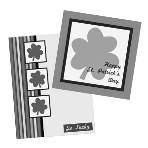 St. Patrick'd Day Card Layout or Templates
