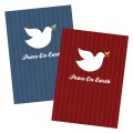 Printable Peace On Earth Dove Christmas Card