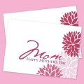 Elegant Floral Printable Mother's Day Card