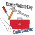 Father&#039;s Day Tool Box Digital Stamps