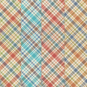 Printable Plaid Father's Day Papers