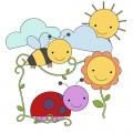 Sunshine Spring Digital Stamp Set