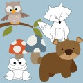 Outdoor Critter Digital Stamps