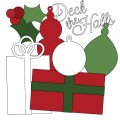 Deck The Halls Christmas Digital Stamps