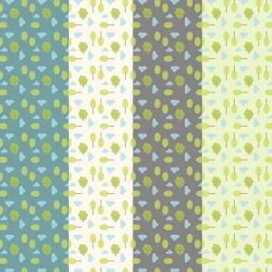 Tree Patterned Printable Papers