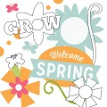 Welcome Spring Digital Stamps