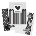 Simple Sentiments Card Template Pack 1